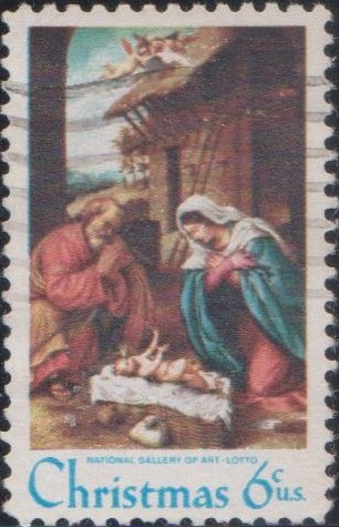 1414 Nativity - Christmas [United States Stamp 1970]