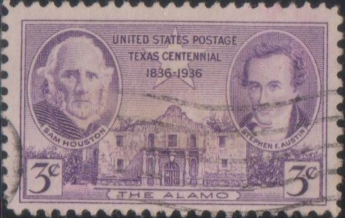 776 Texas Centennial [United States Stamp 1936]