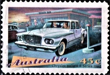 First Australian Chrysler Valiant Model