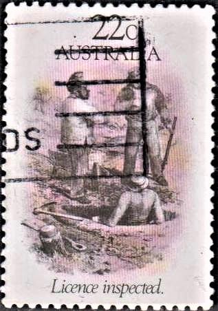 Australian gold rushes
