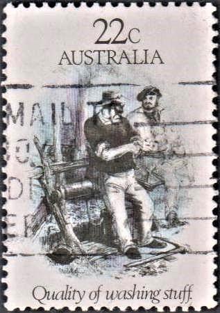 Sketch of Australian Painter S. T. Gill