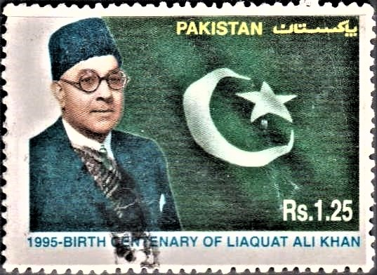 Nawabzada (Quaid-e-Millat) and Pakistani Flag