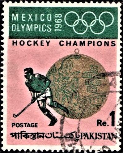 1968 Mexico Olympics : Hockey Champions (Gold Medal)