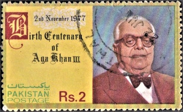 Sir Sultan Muhammed Shah, 48th Nizari Imam, first president of All-India Muslim League (AIML), Nizari Ismaili