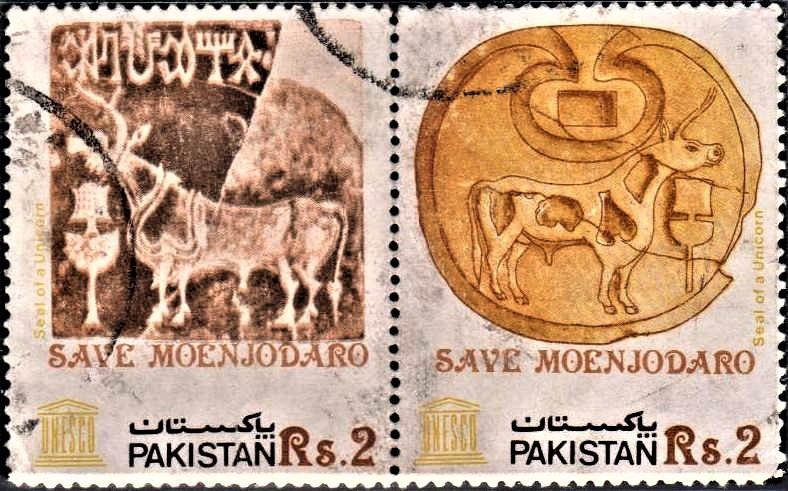 Harappa Unicorn Seal, Mohenjo-daro