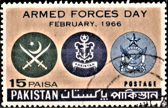 Emblems of Pakistan Army, Navy and Air Force
