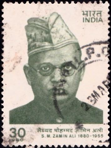 India Stamp 1980 pic