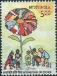 India Stamp 2005, World Peace Day, 21 September