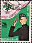 Pakistan Stamp 1976, Jinnah, National Jamboree, Scout