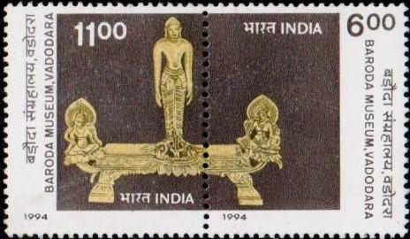 Baroda Museum & Picture Gallery : Tirthankara Rishabhanatha