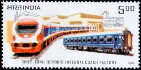 India Stamp 2005, Railway, ICF