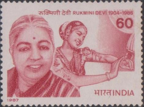 Rukmini Devi Neelakanda Sastri, Bharatanatyam dancer