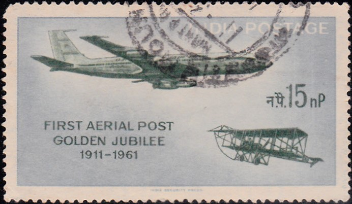 50th Anniversary of First Official Airmail Flight in 1911