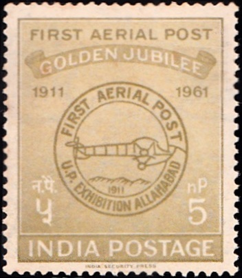Golden Jubilee of First Official Airmail Flight : Allahabad to Naini