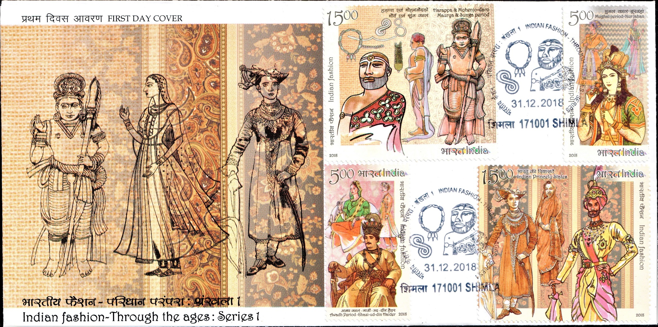 Fashion in India from Ancient Times