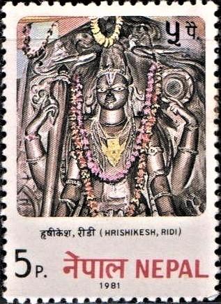 Hrishikesha (हृषीकेश) : 47th name in the Vishnu Sahasranamam