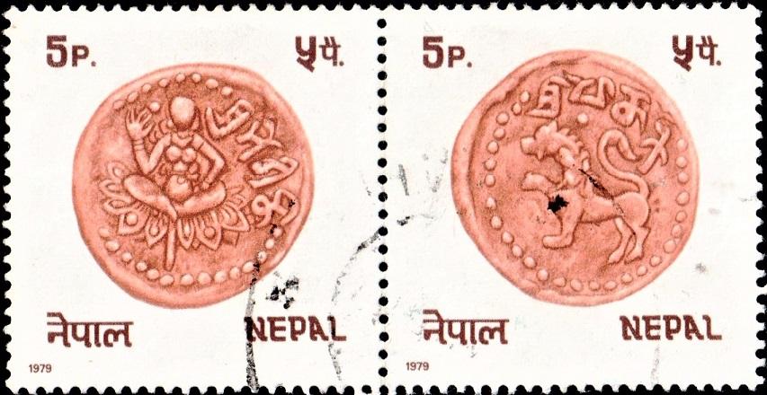 Licchavi King Mandev : Sri Mananka and Sri Bhogini