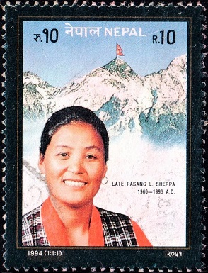 PL Sherpa (पासाङ ल्हामु शेर्पा): 1st Nepali Woman to climb Mt. Everest