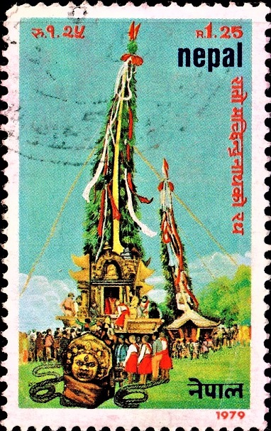 The Chariot of Bunga Dyah : Rato Machhendranath Jatra